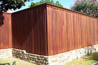 Custom Wood Fences in Frisco, Texas