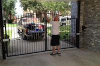 Wrought Iron Entry Gates in Frisco, Texas
