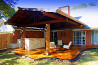 Custom Patio and Patio Covers in Frisco, Texas